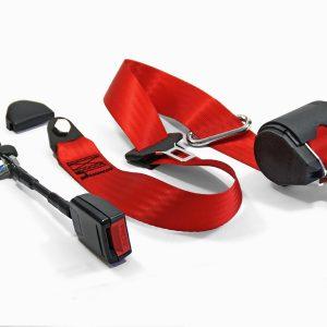 AR70006309 Drei punkt sicherheitgurt Spider rot