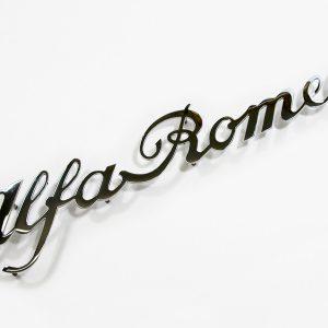 AR90001050 Schriftzug AlfaRomeo Spider Zagato