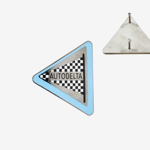 AR90002090 Emblem Autodelta email gewinde