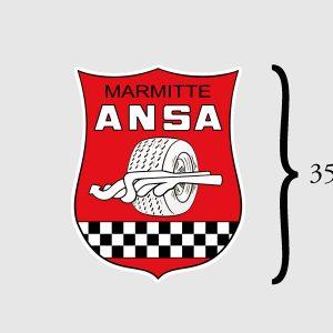 AR90008072 ANSA Aufkleber